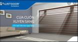 Cửa Cuốn Xuyên Sáng - CHAN HÒA ÁNH SÁNG